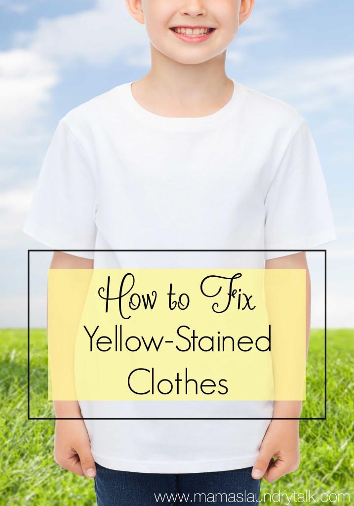 How To Get Yellowed Nylon Garments White 108