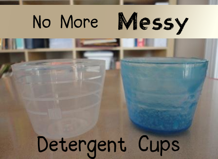 Get Rid Of The Messy Laundry Detergent Cup Once And For