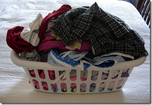 Laundry Basket Clean Clothes