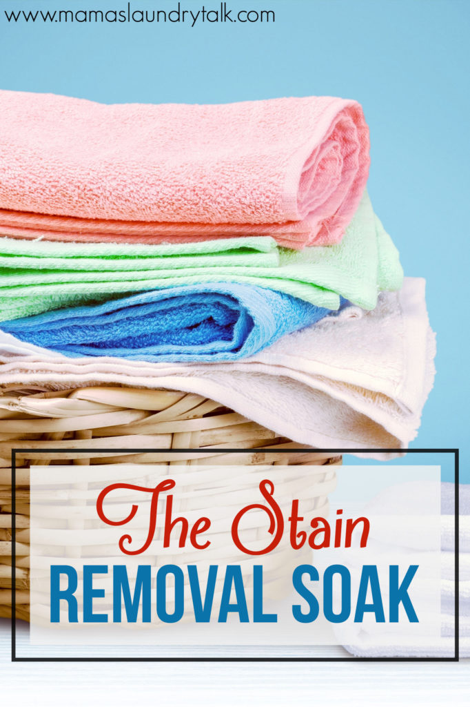 How to Remove Stains with The Soak