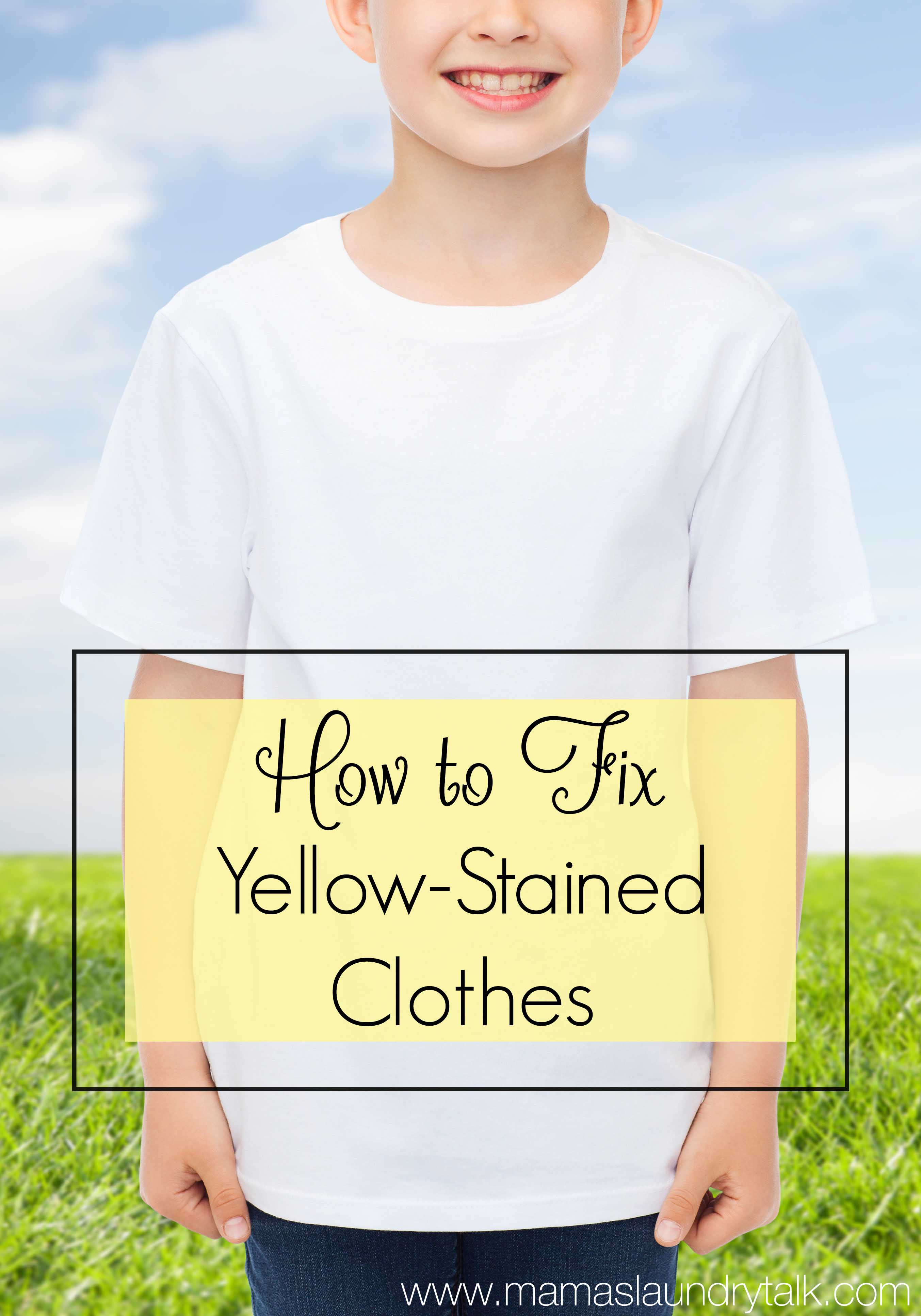 Have Your White Clothes Turned Yellow Mama S Laundry Talk