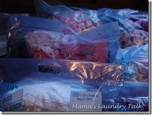 Childrens Clothing Storage Bags