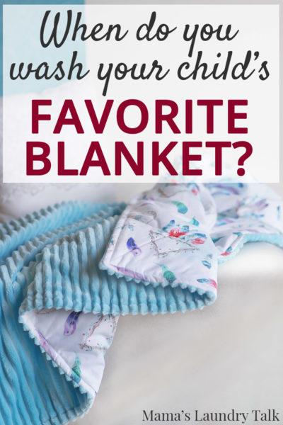 Keeping Children's Blankets Clean