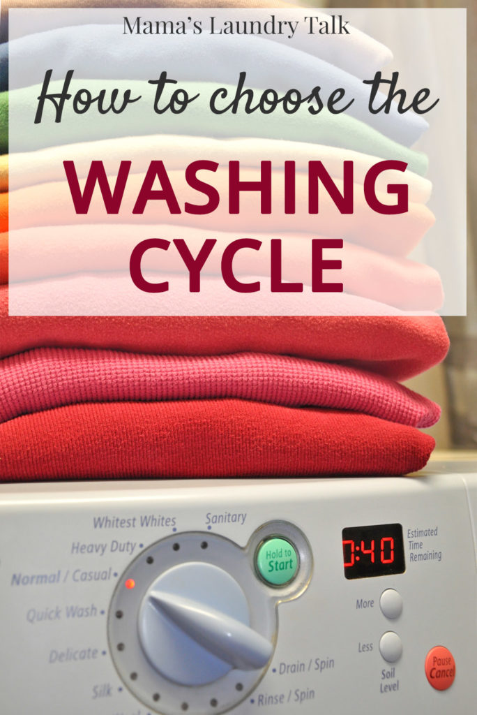 How to Choose the Washing Cycle