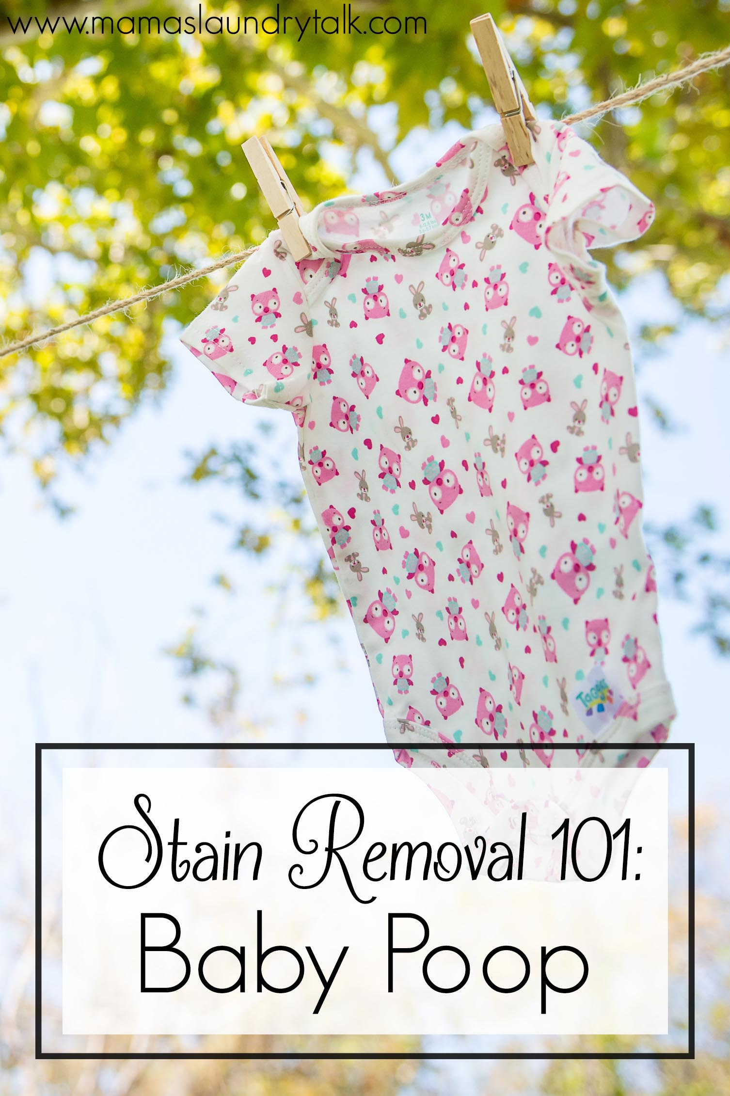 Stain Removal 101: Baby Poop