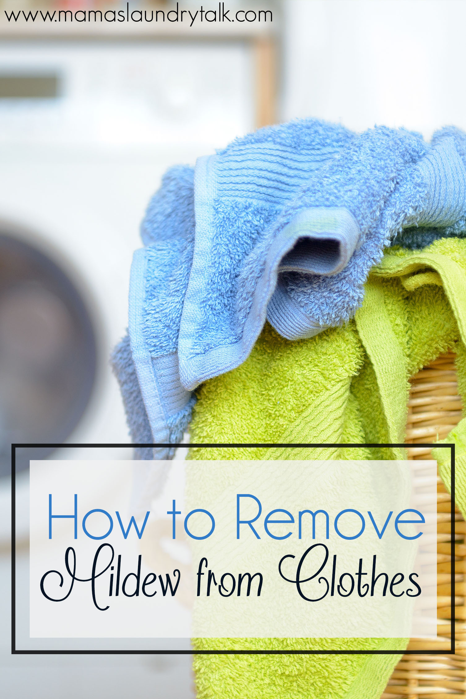 How to Remove Mildew from Clothes