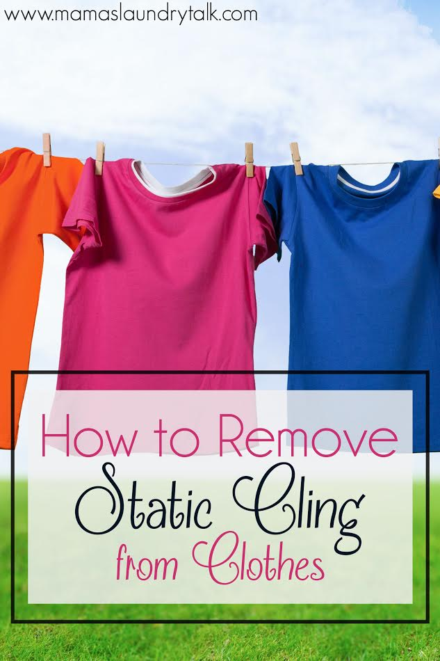 how to get rid of static cling at work
