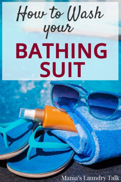 How to Wash Your Bathing Suit