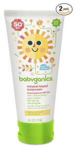 Babyganics Sunscreen Lotion SPF 50