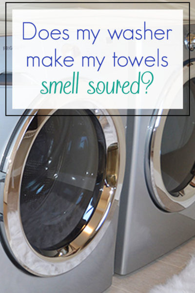 Does My Washer Make My Towels Smell Soured?
